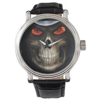 skull phone wristwatch