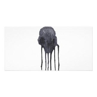 Skull Custom Photo Card