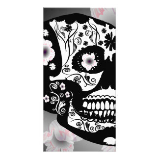 Skull Picture Card