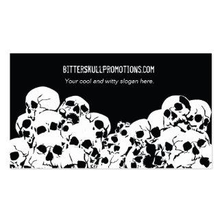 Skull Pile Business Cards
