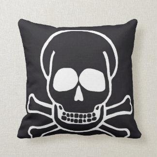 skull pillow