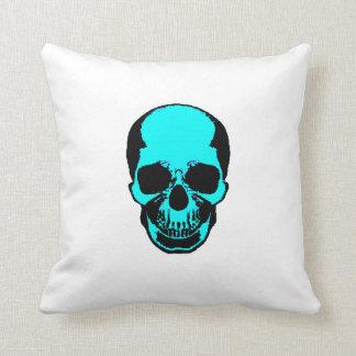Skull Pillow - Cool Water