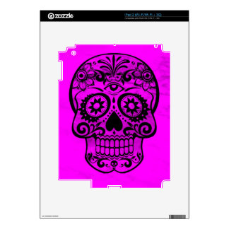 Skull, pink 04 skin for iPad 2