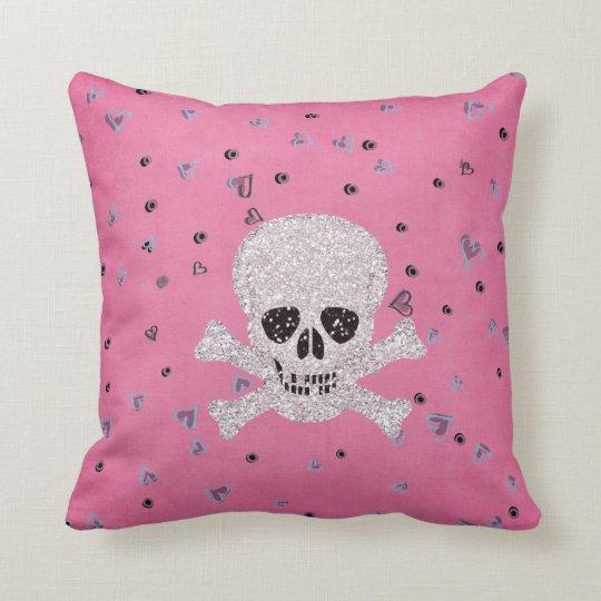 Skull Pink  MoJo Pillow