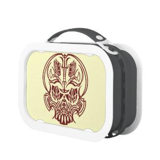 Skull Pinstriping Lunch Box