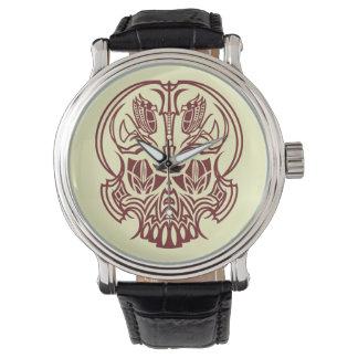 Skull Pinstriping Relojes De Mano