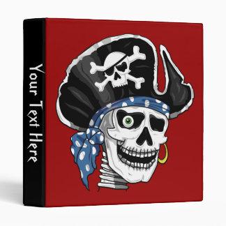 Skull Pirate Binder