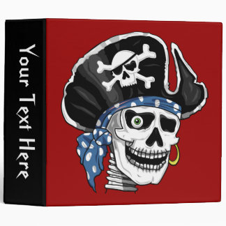 Skull Pirate Binder