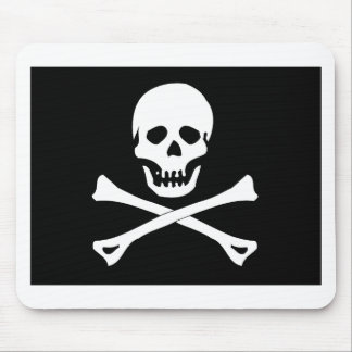 Skull Pirate Flag Mouse Pad