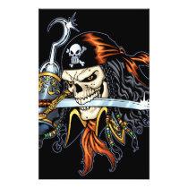 skull,, skulls,, pirate,, pirates,, gothic,, goth,, sword,, swords,, hook,, comic,, art,, al, rio,, characters, Flyer with custom graphic design