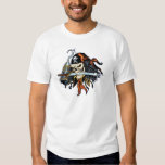 Skull Pirate with Sword and Hook by Al Rio Shirt