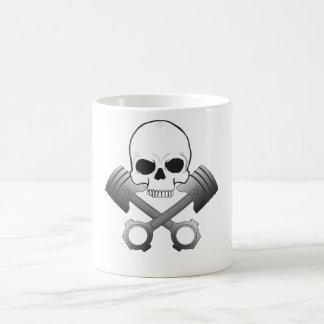 Skull & Pistons Mug