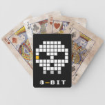 Skull Pixels Playing Cards