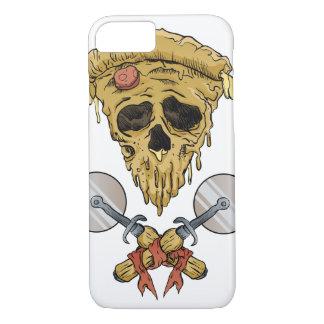 skull pizza slice. iPhone 7 case