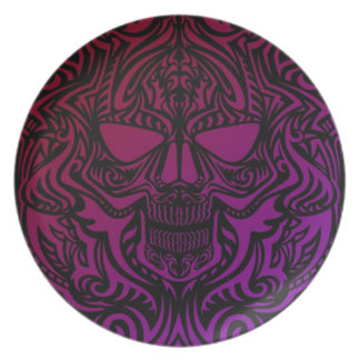 Skull Party Plate