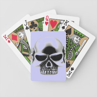 skull playing cards
