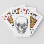 """Skull Playing Cards<br><div class=""""desc"""">Vintage illustration of a skull.</div>"""