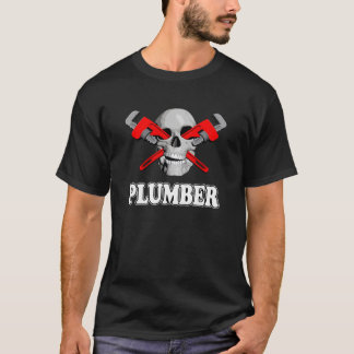 Skull Plumber T-Shirt