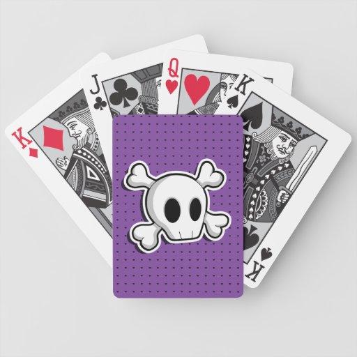 Skull Poker Cards