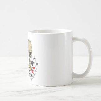 Skull Poker chart Coffee Mug