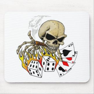 Skull Poker chart Mouse Pad