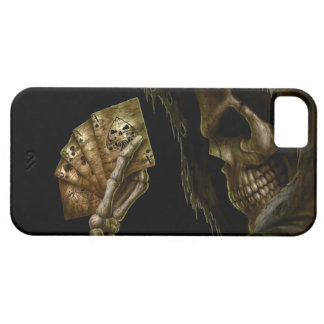 Skull Poker iPhone 5 Case-Mate Cárcasa