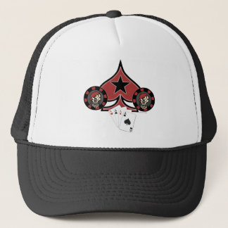 Skull Pokerchip Hats