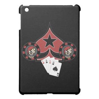 Skull Pokerchip iPad Mini Cases