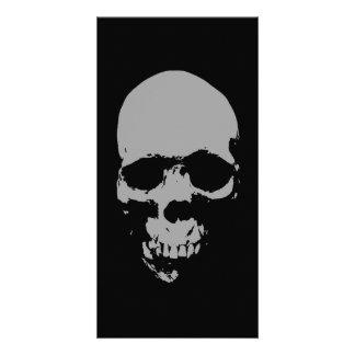 Skull Pop Art Card