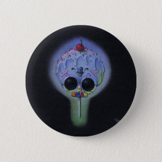 skull pop button