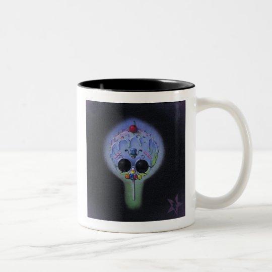 skull pop mug