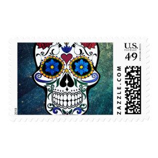 Skull Postage Stamps