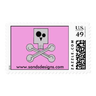 Skull Stamps