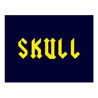 Skull Postcard