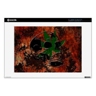 """Skull & Pot Plant lapyop Skin 13"""" Laptop Skins"""