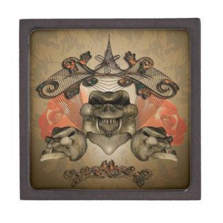 Skull Premium Keepsake Box