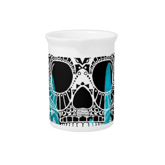 SKULL PRODUCTS DRINK PITCHER