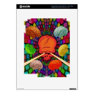 Skull Psychedelic iPad 3 Skin