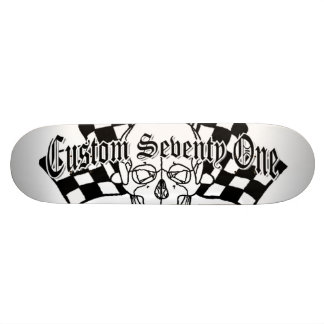 Skull Racer Skateboard