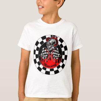 Skull Racing Flags T-Shirt