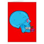Skull ~ Red Rose Tattoo Skull Fantasy Art Cards