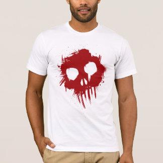 Skull Red Splatter Gothic / Grunge T-Shirt