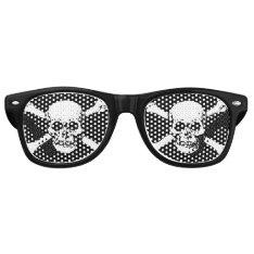 Skull Retro Sunglasses at Zazzle