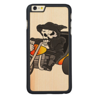 skull ride a big tricycle carved® maple iPhone 6 plus slim case