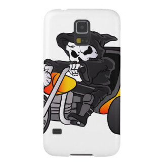 skull ride a big tricycle case for galaxy s5