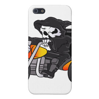 skull ride a big tricycle cover for iPhone SE/5/5s
