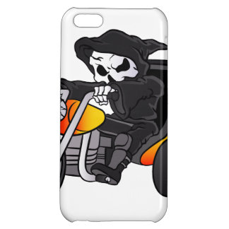 skull ride a big tricycle iPhone 5C case