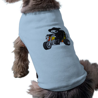 skull ride a big tricycle tee