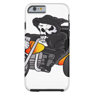skull ride a big tricycle tough iPhone 6 case