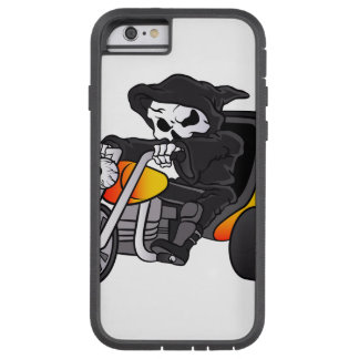 skull ride a big tricycle tough xtreme iPhone 6 case